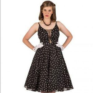 NWT Small Tatyana polka dot Estella dress